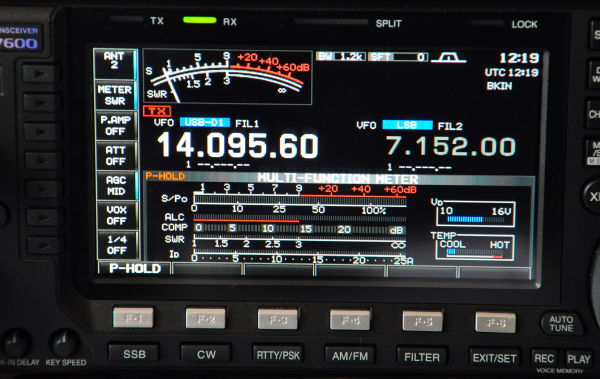 Icom IC-7600 - Setting up for WSPR with Windows 10 and XP