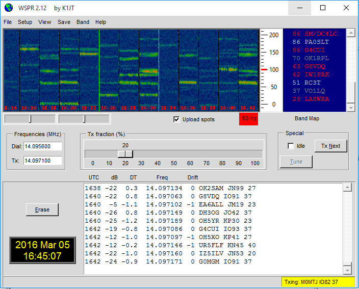 Kenwood TS-590 Set Up for WSPR | WSPRnet