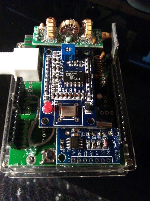 QRPLABS Arduino shield experience | WSPRnet